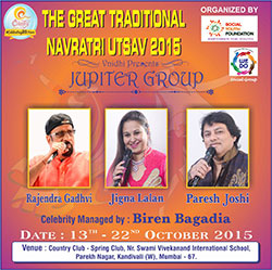 The Great Traditional Navratri 2015