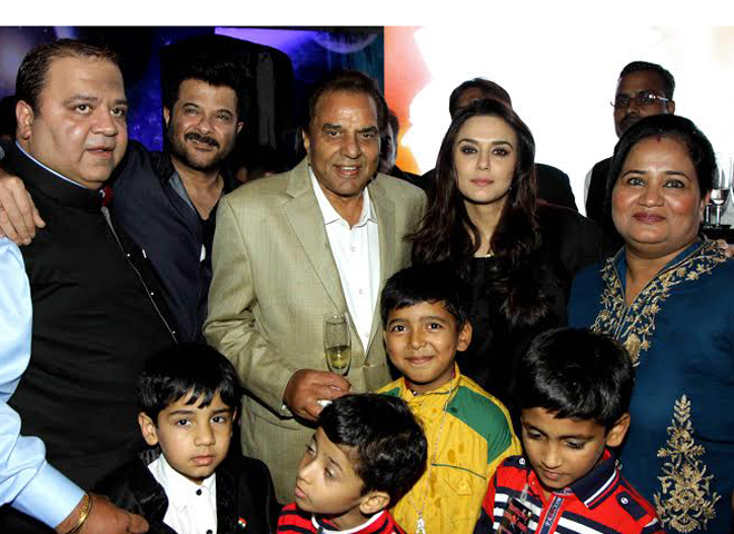 Celebs at Aakash Dingra's 7th B'day Party!
